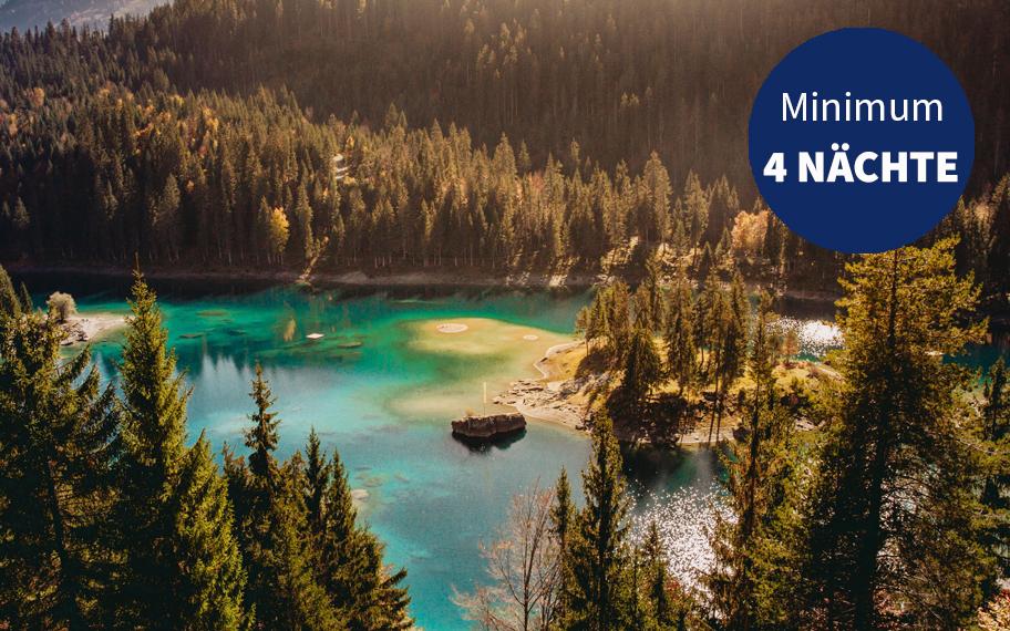 Caumasee Graubünden Angebot 4 Nächte